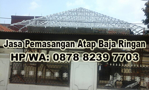Jasa Pemasangan Atap Baja Ringan Murah di Kampung Teluk Buyung