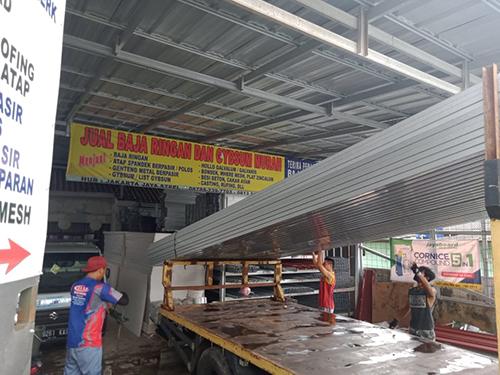Aplikator Pemasangan Atap Baja Ringan Murah di Mustika Jaya